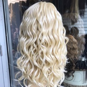 Accessories - Wig 6X6 Freepart Swisslace Blonde Lacefront Wig